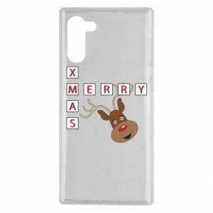 Etui na Samsung Note 10 Merry Xmas Moose