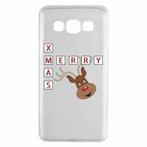 Etui na Samsung A3 2015 Merry Xmas Moose
