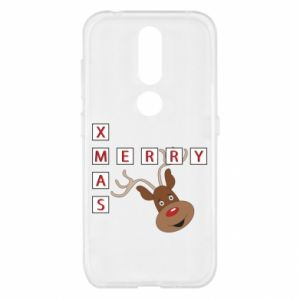 Etui na Nokia 4.2 Merry Xmas Moose