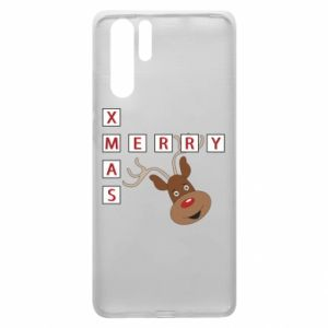 Etui na Huawei P30 Pro Merry Xmas Moose