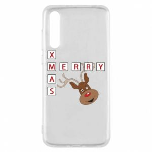 Etui na Huawei P20 Pro Merry Xmas Moose