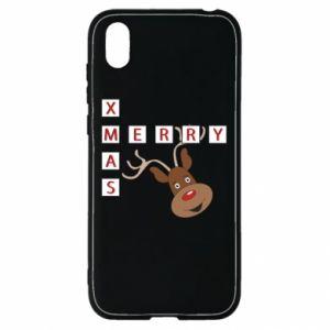 Etui na Huawei Y5 2019 Merry Xmas Moose