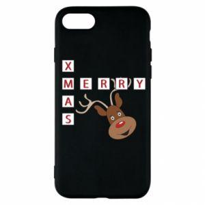 Etui na iPhone SE 2020 Merry Xmas Moose