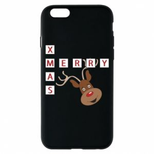 Phone case for iPhone 6/6S Merry Xmas Moose