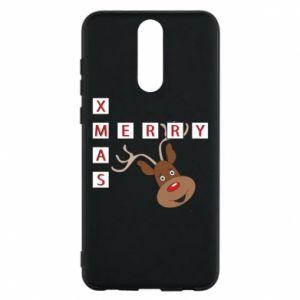 Phone case for Huawei Mate 10 Lite Merry Xmas Moose