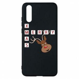 Phone case for Huawei P20 Merry Xmas Moose