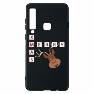 Phone case for Samsung A9 2018 Merry Xmas Moose