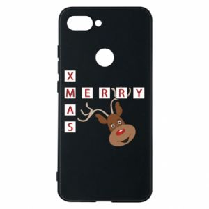 Phone case for Xiaomi Mi8 Lite Merry Xmas Moose