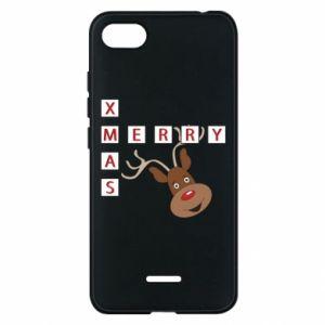 Phone case for Xiaomi Redmi 6A Merry Xmas Moose