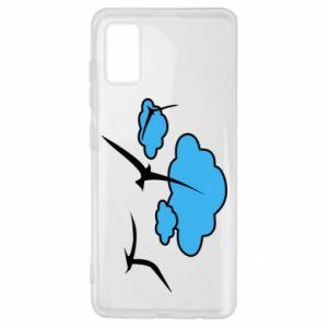 Samsung A41 Case Seagulls