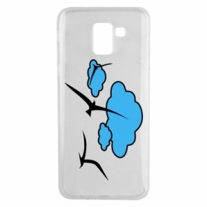 Phone case for Samsung J6 Seagulls