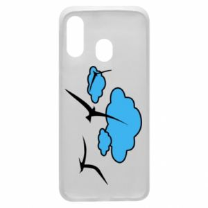 Phone case for Samsung A40 Seagulls