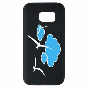 Phone case for Samsung S7 Seagulls