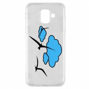 Phone case for Samsung A6 2018 Seagulls