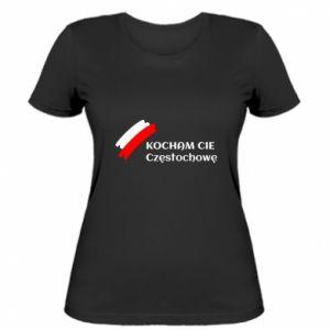 Women's t-shirt city Czestochowa - PrintSalon
