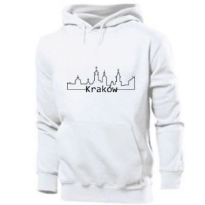 Męska bluza z kapturem Kraków. Miasto