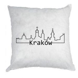 Poduszka Kraków. Miasto