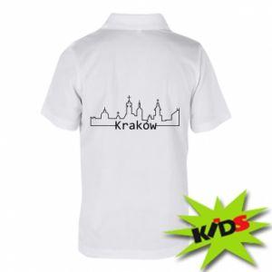 Koszulka polo dziecięca Kraków. Miasto