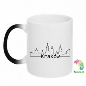 Chameleon mugs City Krakow