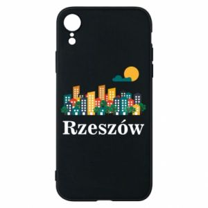 Phone case for iPhone XR Rzeszow city