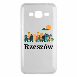 Phone case for Samsung J3 2016 Rzeszow city