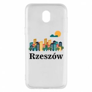 Phone case for Samsung J5 2017 Rzeszow city