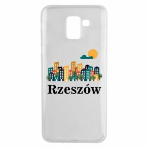 Phone case for Samsung J6 Rzeszow city