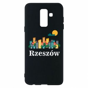 Phone case for Samsung A6+ 2018 Rzeszow city