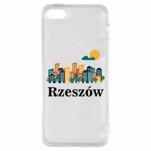 Phone case for iPhone 5/5S/SE Rzeszow city