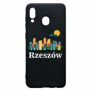 Phone case for Samsung A30 Rzeszow city