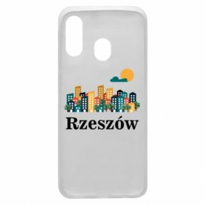 Phone case for Samsung A40 Rzeszow city
