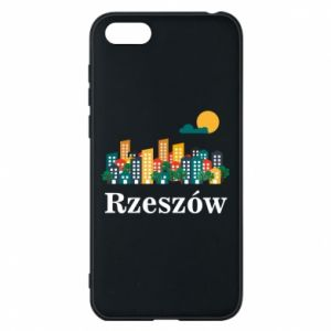 Phone case for Huawei Y5 2018 Rzeszow city