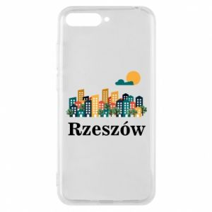 Phone case for Huawei Y6 2018 Rzeszow city