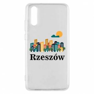 Phone case for Huawei P20 Rzeszow city