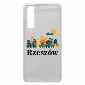 Phone case for Huawei P30 Rzeszow city