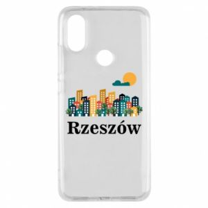 Phone case for Xiaomi Mi A2 Rzeszow city
