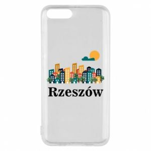 Phone case for Xiaomi Mi6 Rzeszow city