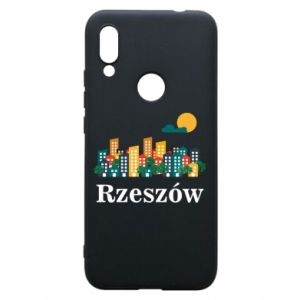 Phone case for Xiaomi Redmi 7 Rzeszow city