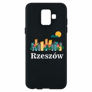 Phone case for Samsung A6 2018 Rzeszow city