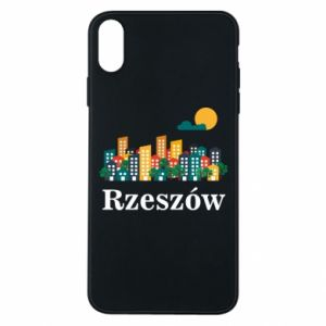 Phone case for iPhone Xs Max Rzeszow city