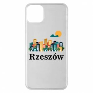 Phone case for iPhone 11 Pro Max Rzeszow city