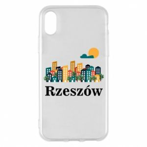 Phone case for iPhone X/Xs Rzeszow city