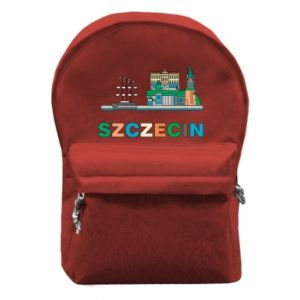 Backpack with front pocket City Szczecin 2