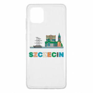 Etui na Samsung Note 10 Lite Miasto Szczecin