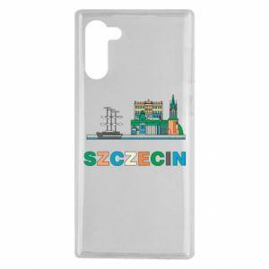 Etui na Samsung Note 10 Miasto Szczecin