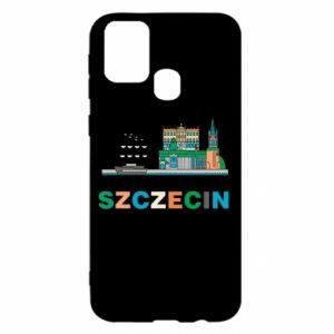 Etui na Samsung M31 Miasto Szczecin