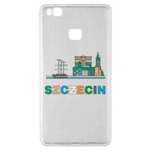 Etui na Huawei P9 Lite Miasto Szczecin