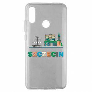 Etui na Huawei Honor 10 Lite Miasto Szczecin