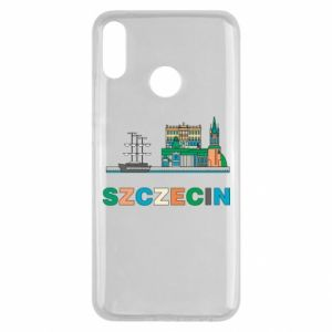 Etui na Huawei Y9 2019 Miasto Szczecin