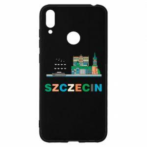 Etui na Huawei Y7 2019 Miasto Szczecin